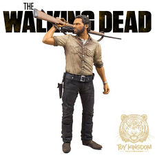 "McFarlane The Walking Dead TV - RICK GRIMES DELUXE 10"" ACTION FIGURE - New! TV 6"