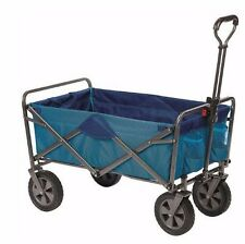 New Folding Sports Cart Wagon Collapsible Utility Mac Beach Gardening Supplies