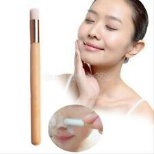 Wooden Handle Remover Nose Pore BlackHead Clear Brush Cleaning Facial Brushes