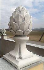 PINIENZAPFEN 2 Stück Deko Gartendekoration Säulen Säule Steinguss BLACKFORM