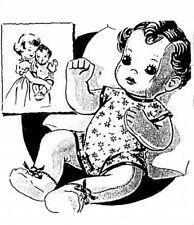 "MAIL ORDER STUFFED 21"" BONNIE BABY DOLL PATTERN 2999"