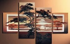 4 pc Large Modern Abstract Art Oil Painting Wall Decor canvas NO frame