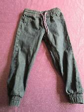 H & M, Jeanshose Pull-On, Denim Loose, Gr. 92, dunkelblau, Baumwolle