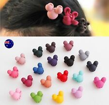 5 Pieces Kids Baby Girls Child Small Minnie Mouse Claw Clamp Styling Hair Clips