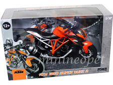 AUTOMAXX 605101 KTM 1290 SUPER DUKE R BIKE MOTORCYCLE 1/12 BLACK / ORANGE