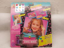 Vintage Caboodles Jewel Minis Hair Combs MOC 1993 Rare Fashion toy NEW Cosmetics