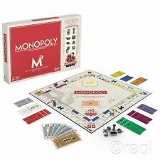 New Monopoly 80th Anniversary Edition Board Game Traditional Hasbro Official