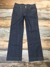 CAMBIO JEANS Size 14 Women's Dark Wash Straight Leg Denim Jeans