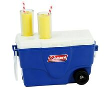 "Blue Coleman® Camping Cooler with Lemonade Glasses for 18"" Dolls American Girl"