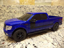 2013 Ford F-150 FX4 Pickup Truck Promo 1:25 Scale plastic Blue Flame auto show