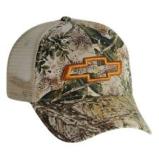 Chevy Bowtie Game Guard Camo Mesh Hat