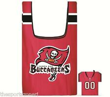 Tampa Bay Buccaneers Shopping Bag In a Pouch