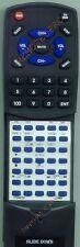 Replacement Remote for LUXMAN R117, 01E4423S01, RR117
