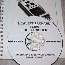 Hewlett Packard Operating & Service Manual for the 1230A Logic Trigger