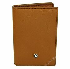 NEW Mont Blanc Meisterstuck Selection Leather Business Card Holder 109660
