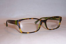 NEW COACH EYEGLASSES BROOKLYN HC 6040 TORTOISE GREEN 5117 52mm AUTHENTIC RX