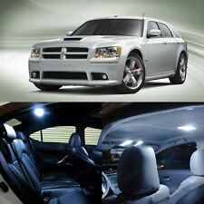 10 x Xenon White LED Interior Light Package Kit For Dodge Magnum 2005 - 2008