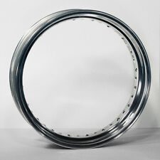 "GENUINE Akront 4.25 x 17"" 40 Hole Polished Rim Harley Customs"