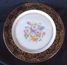 Antique Southern Potteries, Inc 22 KT. Gold Decorated Plate 10 1/4in