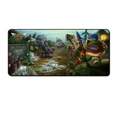 League of Legends Teemo Mat Thicker Competitive Gaming Mouse Pad 70*40cm