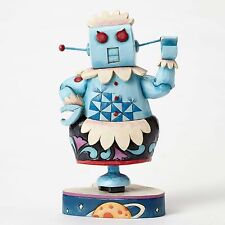 JIM SHORE HANNA BARBERA JETSONS Figurine Statue ROSIE THE ROBOT Quilted Folk Art