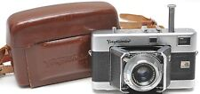 Voigtlander Vitessa 35mm Rangefinder camera with Color Skopar 50mm 1:3.5