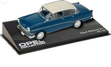CL08 Opel Rekord PI 1957 1/43 Scale Blue/White New in Display Case