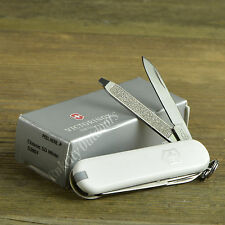 Victorinox Classic SD White Handle Swiss Army Knife Multi-Tool 53007