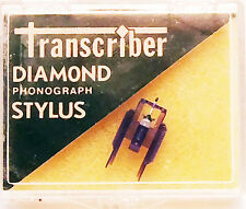 TRANSCRIBER PHONOGRAPH NEEDLE for SONY ND-143G VL-43 CARTRIDGE PS-LX330 747-D7