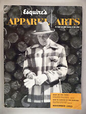 Apparel Arts Magazine - November, 1953 ~~ Esquire's Apparel Art