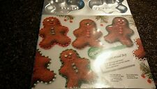 WILTON GINGERBREAD BOY BAKING  PAN SINGLE SERVING FOR PARTIES, BAKE SALES,TREATS