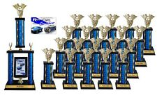 SMALL CAR SHOW AWARD TROPHY PACKAGE 3C TOP 20 CAR SHOW AWARDS