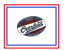 Classic Willys-Overland Logo Tie Tack