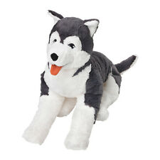 "IKEA LIVLIG SOFT TOY DOG SIBERIAN HUSKY STUFFED ANIMAL 23"" *PERFECT GIFT*"