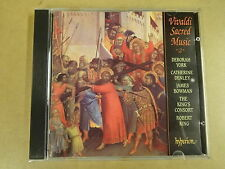 CD HYPERION / VIVALDI SACRED MUSIC 2 / THE KING'S CONSORT ROBERT KING