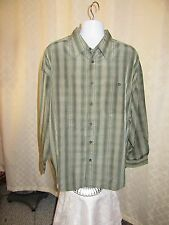Long Sleeve Men's Shirts Haggar 4X,3X,3XLT Some Color Striped and Plaid NWT