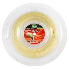 Gosen OG Sheep Micro 660' Reel 17 gauge-1.22mm- Natural -Tennis Racquet String