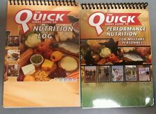 Quick Series Guide to Performance Nutrition and Log Book Combo Weight Loss Fitne