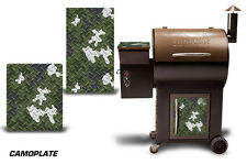 Traeger Smoker Grill Graphic Kit Decal Wrap Skin For Cost Co Century Model CAMO