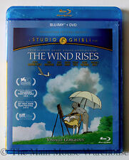 Studio Ghibli Animation The Wind Rises on Blu-ray & DVD English & Japanese Audio