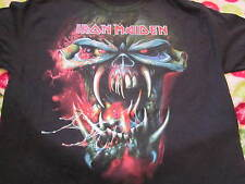 Iron Maiden The Final Frontier World Tour 2010 Concert Shirt Large Unused