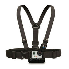 Adjustable Elastic Belt Chest Strap Mount Accessories for Action Camera Black YI