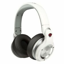 Monster N-Pulse Over-Ear DJ Headphones High Performance White NEW