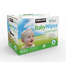 900Pk Baby Wet Wipes Bulk Unscented ECO Biodegradable Hypoallergenic 9x100Pk