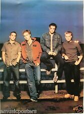"A1 ""BAND SITTING ON FENCE"" POSTER FROM ASIA - U.K. / Norway Pop Boy Band"