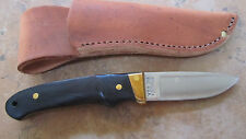 SCHRADE USA  MADE PH2 PRO HUNTER BLACK WOOD KNIFE NEW LOVELESS NO BOX