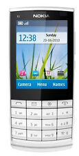 Nokia X3-02 Touch and Type - White (Unlocked) Cellular Phone WIFI Free Shipping