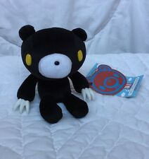 "Gloomy Plush Black Bear Yellow Eyes White Claws Mori Chack 5"" Hang Tag Cube Work"