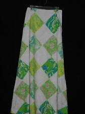 Women's LILLY PULITZER Resort White Lioness Patch Print HARPER SKIRT NWT Size 2