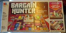 Bargain Hunter 1981 Milton Bradley Board Game Complete